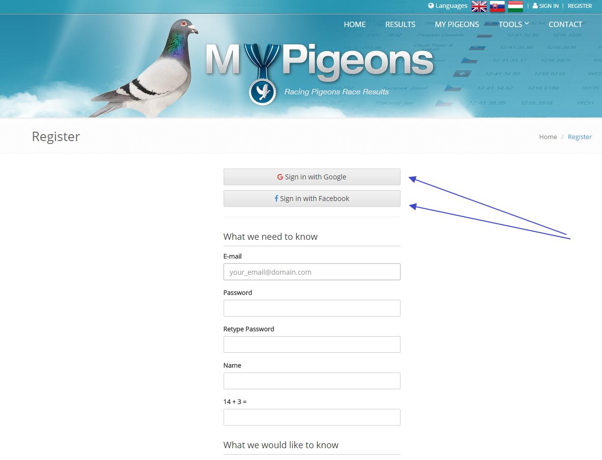 Click social login button